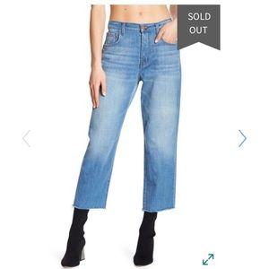 J Brand Ivy High Rise Crop Straight Leg Jeans 🌻✨